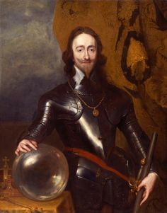 """Charles I of England"" by the Studio of Sir Anthony van Dyck"