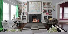 Dallas: Alicia + Adam - eclectic - living room - dallas - Lindsay von Hagel