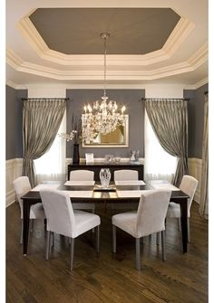 Most Design Ideas Beautiful White Dining Room Pictures, And Inspiration – Modern House Style At Home, Style Deco, Simple Furniture, Contemporary Furniture, Dining Room Inspiration, Dining Room Design, Dining Rooms, Dining Area, Dining Table