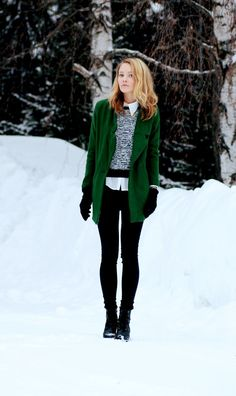 winter outfit by Petra