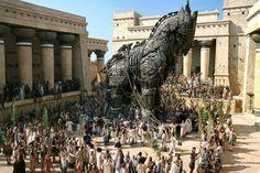 Troya, Grecia.  Ciudades maravillosas y perdidas en la historia.