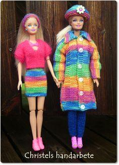 Christels handarbete: Barbie med kompis