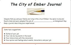 11 best city of ember images on pinterest city of ember beds and city of ember journal response ccuart Images