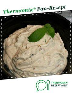 Tomate-Basilikum-Dip von escoba. Ein Thermomix ® Rezept aus der Kategorie Saucen/Dips/Brotaufstriche auf www.rezeptwelt.de, der Thermomix ® Community.