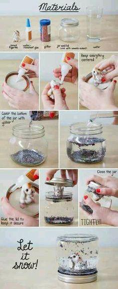reutilizar frascos!