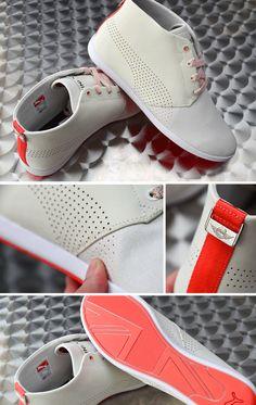 MINI Cooper Puma Tan MidTop Racing Shoes - MINI Cooper Accessories + MINI Cooper Parts