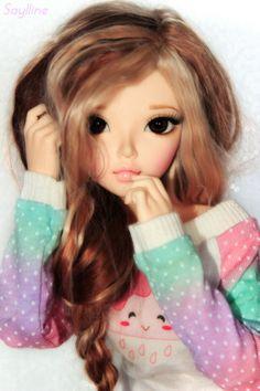 dollshousedropin:  [ Minifee Chloe ] Jade (by Saylline ♥)