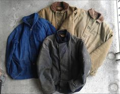 Autumn is officially here, so these can come back out to play.  U.S. Navy Deck Jackets 1922-1944  Still a few more to find.....