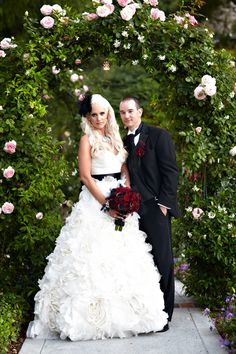 Dramatic Black and Red Wedding in Palos Verdes   Miki and Sonja Photography Blog