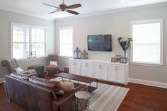 Davis Islands Interior Home - contemporary - Living Room - Tampa - Devonshire Custom Homes