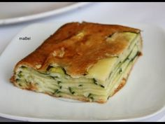 Las recetas de Mabel Mendez: Pastel invisible de calabacin Tapas Recipes, Healthy Recipes, Best Spanish Food, Fromage Cheese, Latin Food, What To Cook, Empanadas, I Foods, Food And Drink