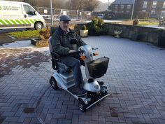 Mr O'Born chose the Plus mobility scooter which one will be perfect for you? Get a home test drive here http://contact.quingoscooters.com/social-mobility-scooters