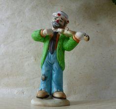 Vintage Flambro Signed Emmett Kelly JR Clown by Vintage42Day, $30.00