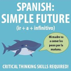 $ This worksheet encourages students to utilize some higher order thinking with the Spanish simple future (ir + a + infinitivo)