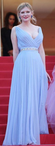 La robe de Kirsten Dunst pendant le Festival de Cannes
