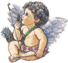 Advanced Embroidery Designs - Cupid