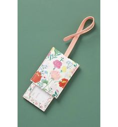 2pcs Luggage Tags PU Leather Tags Suitcase Labels Travel Bag With Privacy Cover Portrait Woman Face Pink Roses Creative Pattern Printing