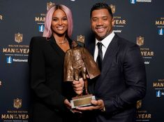 Ciara Posts Sweet Tribute to Russell Wilson After He Gets NFL Honor - E! Online Green Bay Packers Quarterbacks, Ciara And Russell Wilson, Walter Payton, Successful Marriage, Aaron Rodgers, Good Wife, Gossip News, Celebs, Celebrities