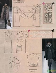 Shanghai style (Chinese method of pattern making )