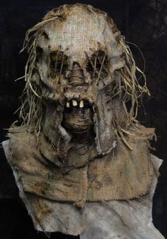 Scarecrow Field Creepy | Scarecrow Masks - Haunted House and Film Ready Creations