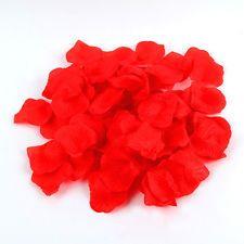 100 SILK ROSE PETALS IDEAL FOR ENGAGEMENT WEDDING BIRTHDAY CELEBRATIONS