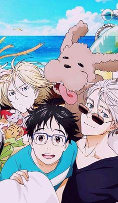 yuri on ice Manga Anime, Fanarts Anime, Anime Characters, Yuri On Ice Fondos, Geeks, Chibi, Otaku, Yuri On Ice Comic, Cover Wallpaper