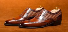The Cosimo mesh / patina brogue  by Antonio De Torres. Classico RTW collection built on our 101E last.  Goodyear Welted.