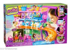 Polly Pocket Spin 'N Surprise Hotel (NEW) Girls Ages 4+ $33.95