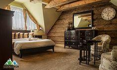 Štýlový penzión Mountain resort River s výhľadom na Belianske Tatry Mountain Resort, Boutique, Entryway Bench, Home Interior Design, Furniture, Bedrooms, River, Home Decor, Luxury