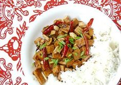 Vegetarian kung pao tofu recipe from http://appetiteforchina.com/recipes/kung-pao-tofu/ - so delicious and authentic!
