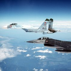 A NATO F-16 fighter jet has tried to approach the Russian defense minister's plane above the neutral waters of the Baltic Sea.