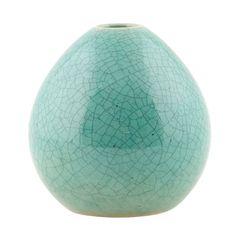 Drop Vase 10cm, Mint, House Doctor