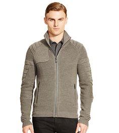 Armor-Inspired Wool Sweater