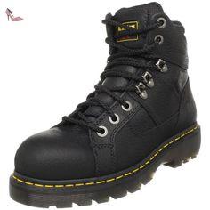 Dr. Martens Ironbridge St Lace Low Boot pour hommes, EUR: 37 EUR, Black Industrial Grizzly - Chaussures dr martens (*Partner-Link)