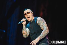 Download Festival   2014   artist - Avenged Sevenfold   M Shadows  Avenged Sevenfold debut as headliners to rock and metal's biggest music festival and they killed it!