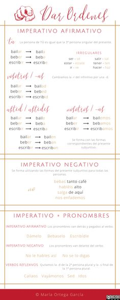 Regular and Irregular Imperative in Spanish Spanish Tenses, Spanish Grammar, Spanish Language Learning, Spanish Class, Teaching Spanish, Infographics, Study, This Or That Questions, School