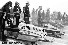 There's A Storm Brewing. Vintage Mercury Sno Twisters and Trail Twisters and the Vintage Mercury Racing Days of Doug and Stan Hayes ~ Courtesy of Track N Trail Sled Shop, In Crandon, WI. Vintage Sled, Vintage Racing, Snow Machine, Twisters, Snowmobiles, Mercury, Yamaha, Brewing, Trail
