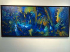 algarabía y silencio interior Night, Interior, Artwork, Painting, Exhibitions, Colors, Work Of Art, Indoor, Painting Art
