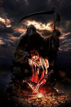 My lover is the darkness..