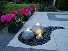 Σχεδιασμός κήπου που με διακοσμητική πέτρα ψηφιδωτά | Τεχνοτροπίες Και Διακόσμηση