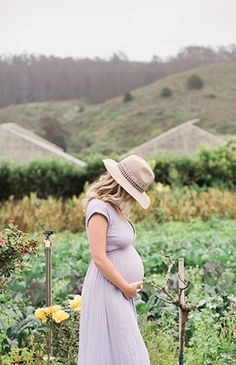 A Florist's Flower Farm Maternity Photos - Inspired By This