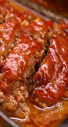 Sweet & Sour Meatloaf ~ Tangy, Moist, and Delicious. The Flavor is Outstanding!!
