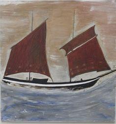 alfred wallis, sailboat