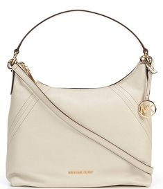 MICHAEL Michael Kors Aria Top Zip Large Shoulder Bag | Dillard's Lv Handbags, Louis Vuitton Handbags, Lulu Fashion, Fashion Fashion, Runway Fashion, Fashion Trends, St Michael, Michael Kors Bag, Toms Shoes Outlet