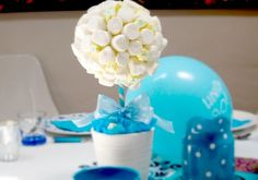 Un original centro de mesa para fiestas. DIY. Post de @Carolina Krupinska Krupinska Llinas