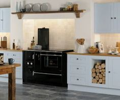 Don't like the black range but this is similar to what our kitchen should look like when its finished