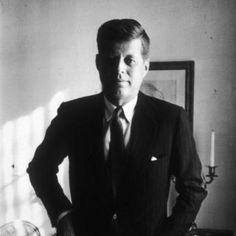 John F. Kennedy by Tony Vaccaro
