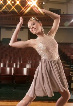 Weissman™ | Sequin Hologram Mesh Dress - my favorite of our ballet costume choices for this year.