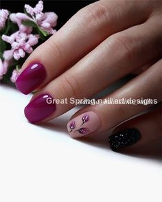 60 Spring Nail Ideas For Exceptional Look 2019 Page 65 of 68 Soflyme Spring Nail Colors, Spring Nail Art, Nail Designs Spring, Spring Nails, Summer Nails, Nail Art Designs, Cute Nails, Pretty Nails, Nagel Gel