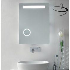 Bathroom Origins Mirrors - Bathroom Origins Moon Mirror 80 - 60x80cm Mirror Cabinets, Nameeks, Mirrors Uk, Bathroom Mirrors Uk, Lighted Vanity Mirror, Bathroom Mirror, Medicine Cabinet Mirror, Bathroom, Modern Mirror
